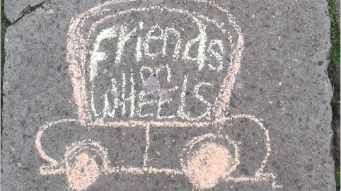 Friends on wheels